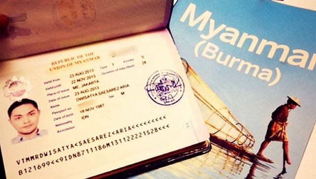 What is Myanmar visa